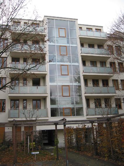 Hoffassade, Kav. 8